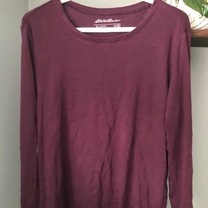 Long sleeve relaxed shirt